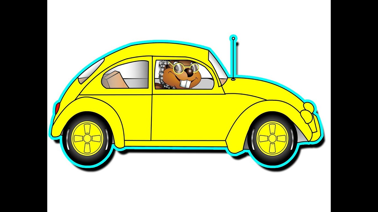 Grandma S Got A Little Yellow Car Kindergarten Preschool Kids Learn Colors You