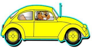 """grandma's Got A Little Yellow Car"" - Kindergarten Preschool Kids Learn Colors"