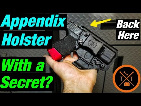 Is This The Most Comfortable IWB Appendix Holster??