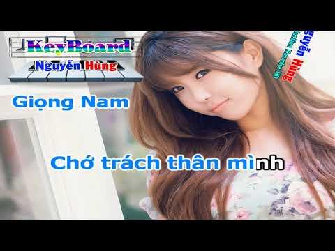 Cái Xác Không Hồn Remix    Tone Nam    Karaoke Nhạc Sống