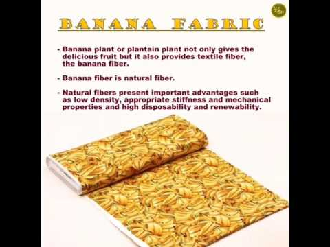 All About Banana Fabric