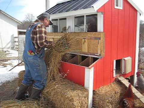 Chicken House Tour - FFA family project
