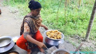 Village Food // Chicken Biryani Village Style Chicken Biryani Recipe // So Yummy In Bengali Recipe