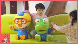 뽀로로 키즈 카페 테마파크 어린이 비행기 요리 놀이 시간 ♡ 어린이 장난감 놀이 동탄점 #4 Indoor Playground Fun Play | 말이야와아이들 MariAndKids