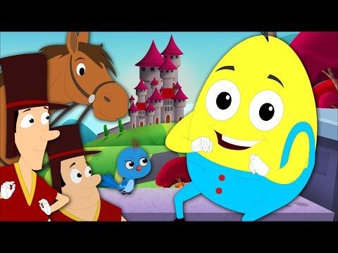 humpty dumpty sat on a wall | nursery rhymes | kids songs | childrens rhymes | baby rhyme | kids tv