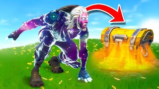 The ONE CHEST Challenge In Fortnite...