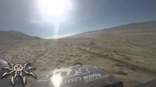 King of the Hammers 2015 EMC RACE HIGHLIGHTS of Lance Clifford and Julio Monroy - Poison Spyder