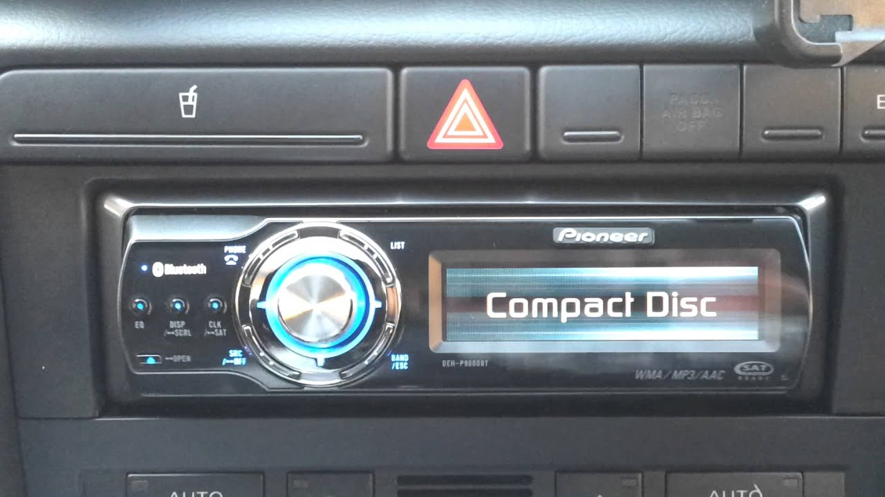 small resolution of car audio wiring pioneer deh p980bt