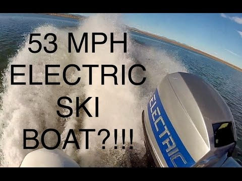 World's Fastest Solar Powered Electric Water Ski Boat  (full documentary)