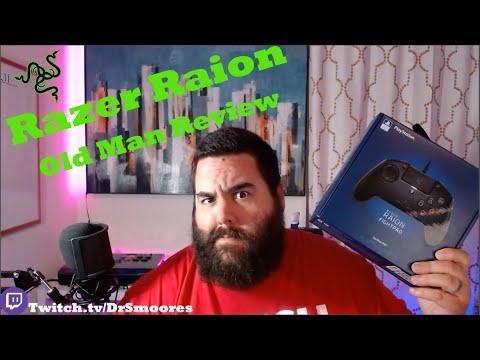 Razer Raion Fightpad - Old Man Review