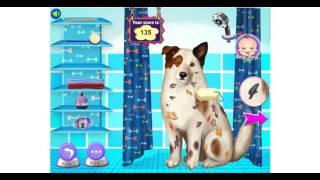 NEW мультфильм для девочек—Испачканная собака блог—Игры для детей