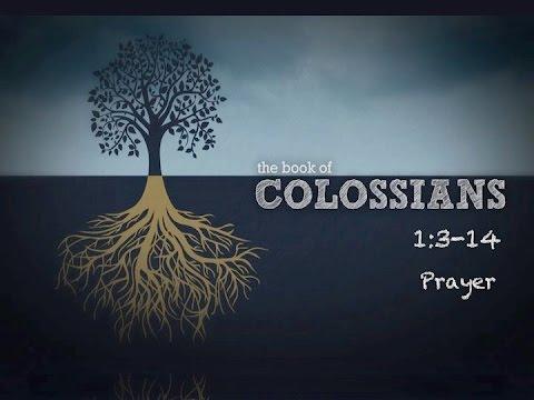 Prayer Colossians 1:3-14