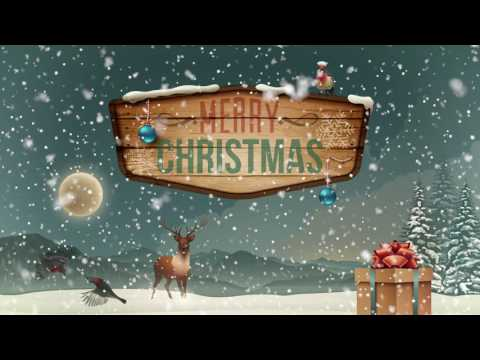 1 HOUR Christmas Winter Snow Background Music Loop HD Royalty free - Lost Outside