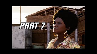 A WAY OUT Walkthrough Part 7 - Gun Runner (4K Let's Play Commentary)