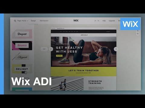 Wix.com Introducing Wix ADI | Artificial Design Intelligence | The Future of Website Building