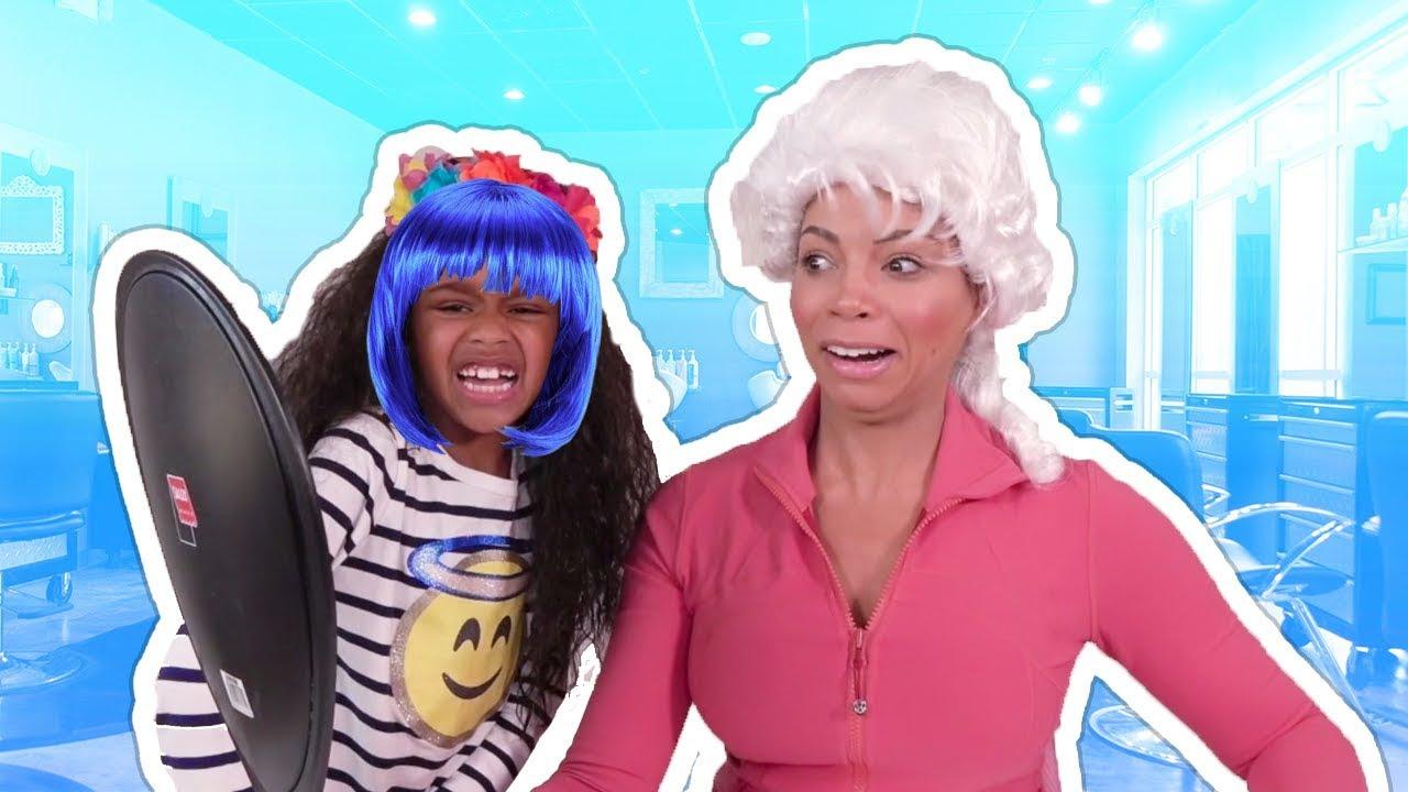 Finest Baby Doll Hair Salon Magic Hair Colors On Mommy