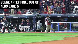 The scene at Progressive Field after record-breaking season comes to an end
