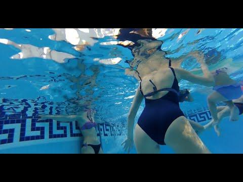 ржака в бассейне