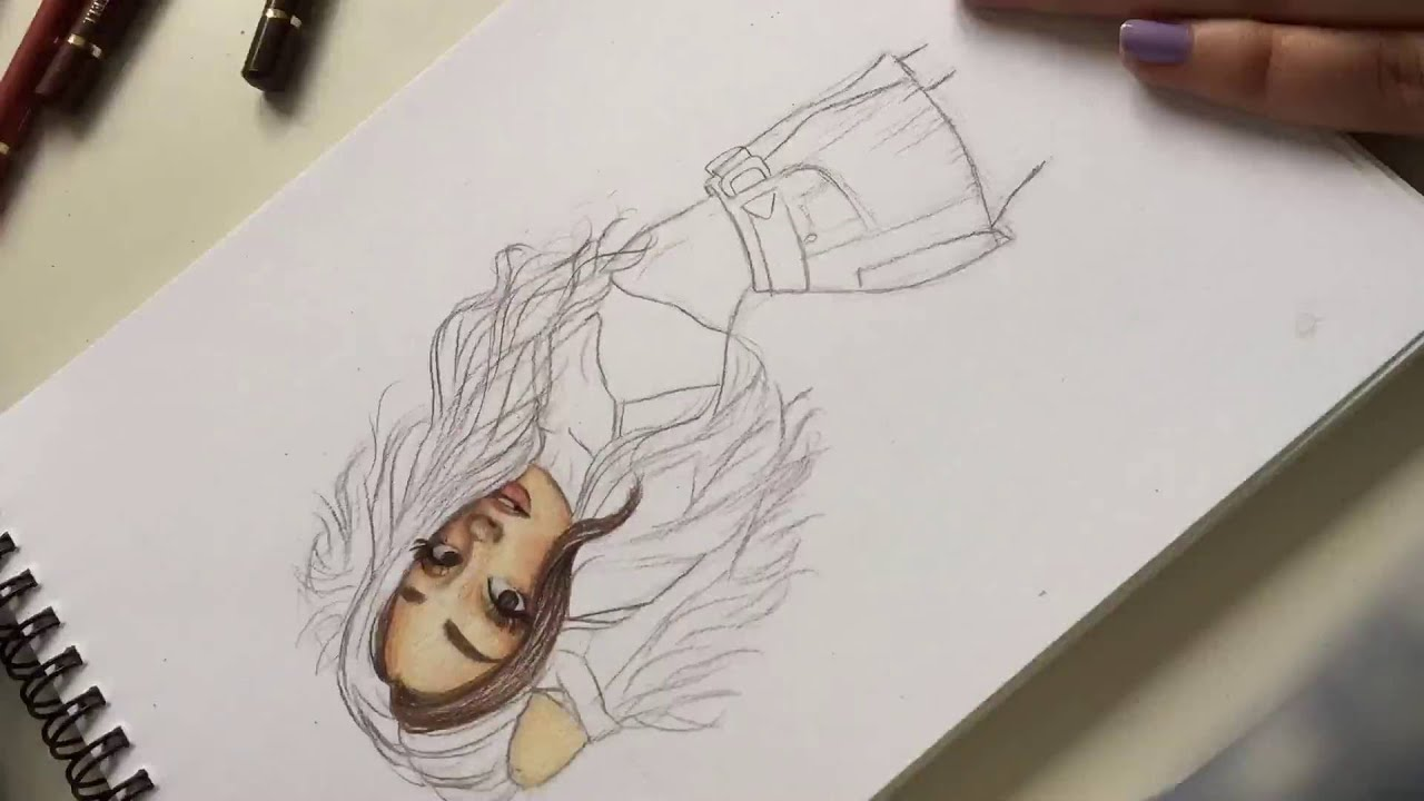 Coloring Ariana Grande Into You Time Lapse Youtube