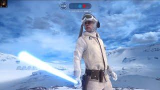 【SWBF】ルーク・スカイウォーカーで34k0d 〜STAR WARS™ バトルフロント™〜 マークハミル 検索動画 30