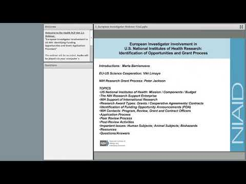 HNN 2 0 Webinar on