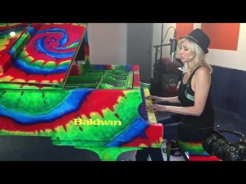 "Debbie Gibson At Piano Recording ""Wonderland"""