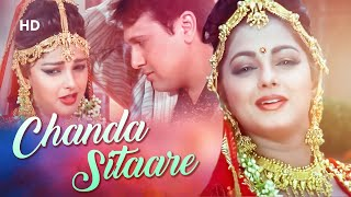 Chanda Sitaare | Naseeb (1997) | Govinda  Mamta❤️Kulkarni | Love Song | Alka Yagnik & Udit Narayan