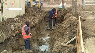 Ремонт дорог начат в столице Якутии