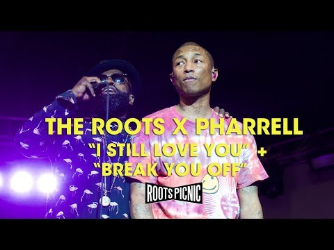 """The Roots X Pharrell: """"I Still Love You"""" + """"Break You Off"""""""