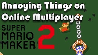 Annoying Things on Online Multiplayer - Super Mario Maker 2