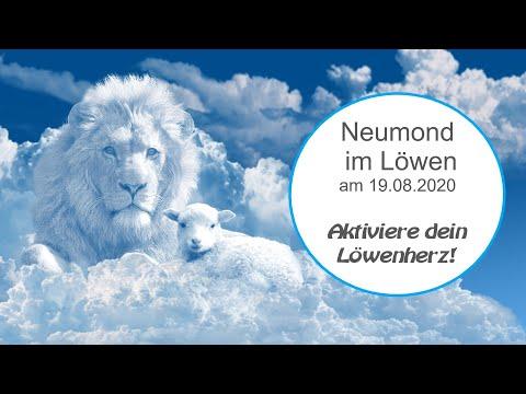 Neumond im Löwen am 19.08.2020 - Das Orakel – Aktiviere dein Löwenherz!