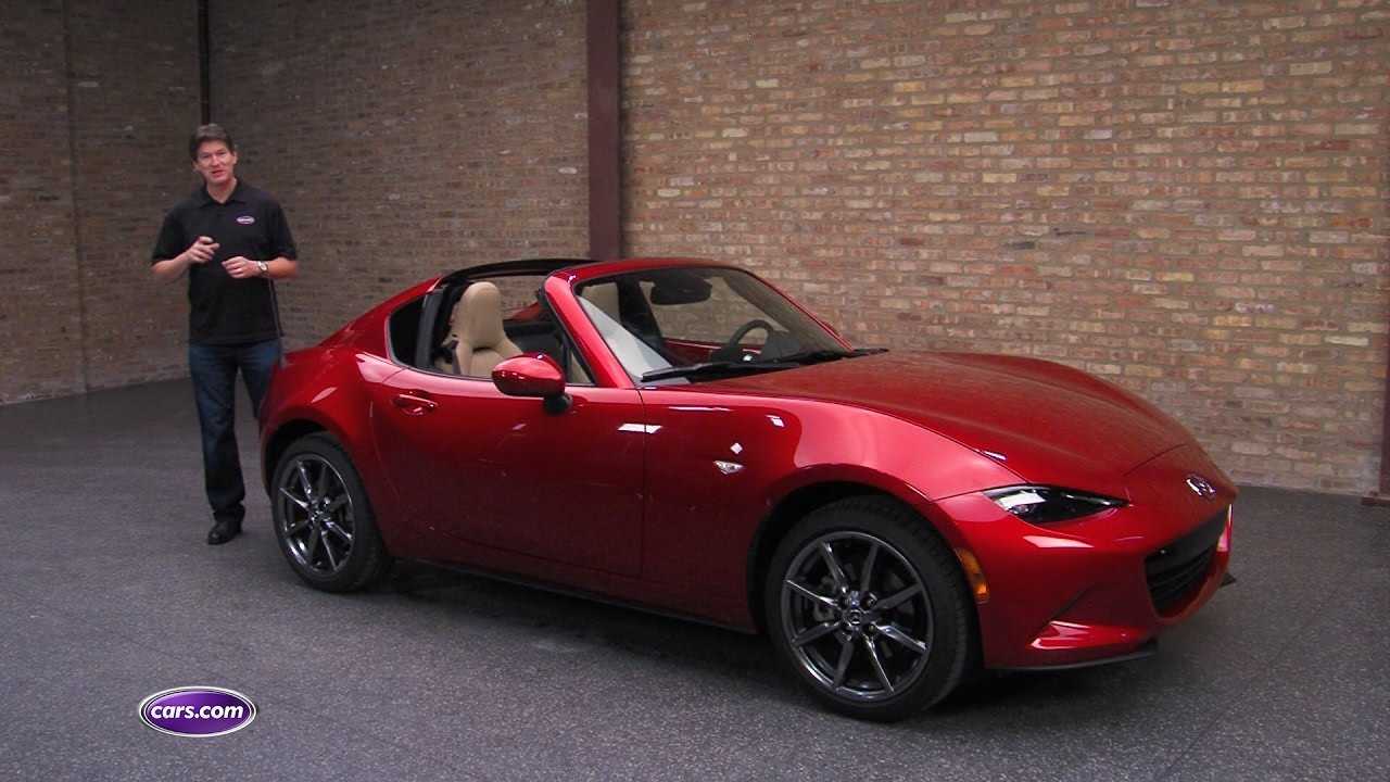 2017 mazda mx-5 miata rf review - youtube