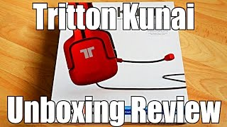 Tritton Kunai (Red) Unboxing Review - PS3 PS4 PS Vita PC Headset
