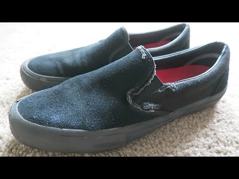 9c531867a66c66 VANS SLIP ON PRO SKATE SHOE REVIEW - YouTube