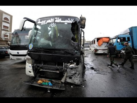 Damascus: 74 Killed, 120 + Injured in Double Suicide Bombing