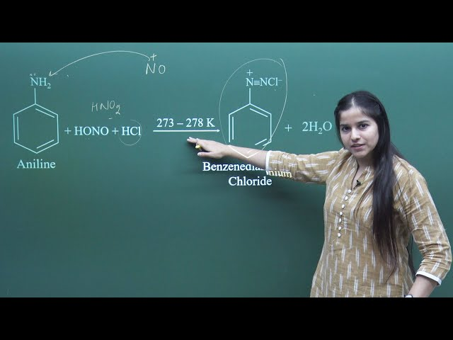 Diazotisation, Important Formulas for NEET & AIIMS Chemistry | Misostudy