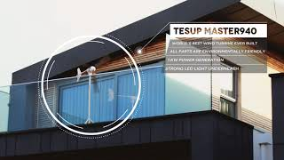 This is TESUP Master940, on a balcony generating the electricity for the house. 💚