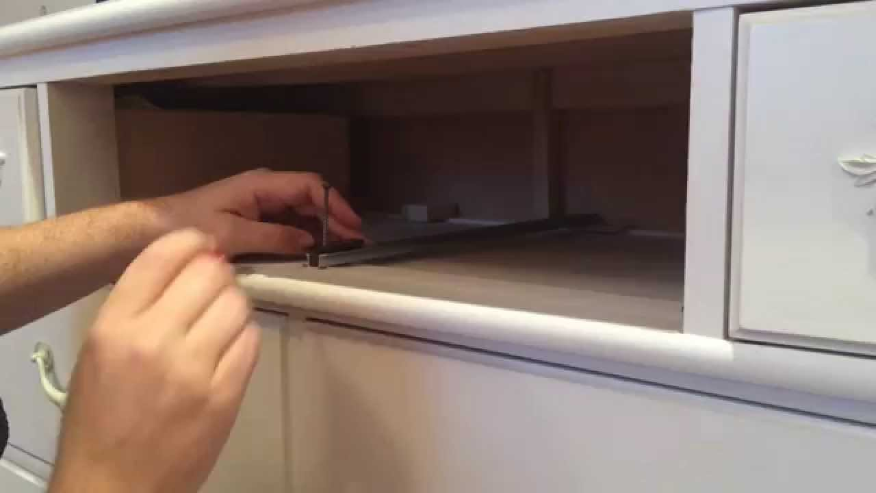how to fix a drawer on young america stanley furniture dresser