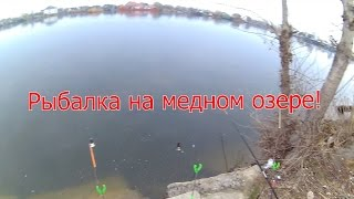 Рыбалка на медном озере в Херсоне ! Сезон открыл ! + Анекдот для рыбаков ! +18
