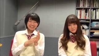SKE48 1+1は2じゃないよ! 2015年04月17日放送分(金) 磯原杏華vs竹...