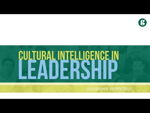 Cultral Intelligence in Leadership