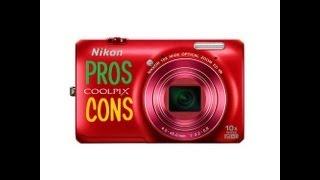 Pros & Cons - Nikon CoolPix S6300