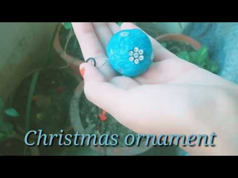 Diy , beautiful Christmas ornament from paper !! Paper craft 🌲🌲for Christmas tree decoration 🌹🌹