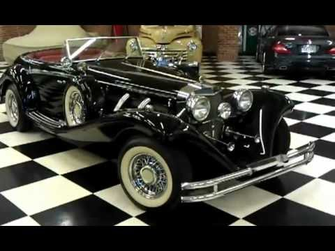 1936 mercedes benz 540k replica for sale youtube for 1936 mercedes benz 540k replica
