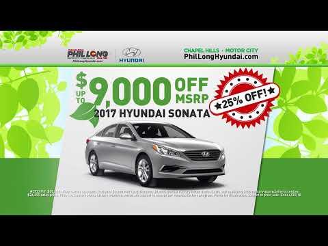 Phil Long Hyundai >> Phil Long Hyundai Of Motor City April 2018 Youtube