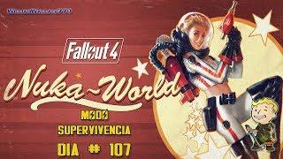 ♠ Fallout 4 |  DLC  Nuka World |Todos Abordo | Modo Supervivencia  En Español |  Día 107