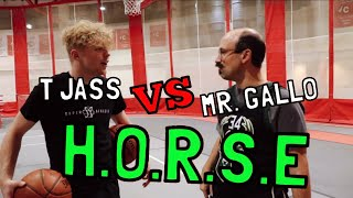 Game of H.O.R.S.E with My Teacher!!