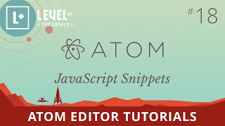 Atom Editor Tutorials #18 - JavaScript Snippets