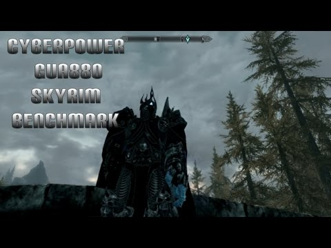 how to see framerate in skyrim