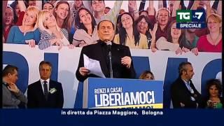 Berlusconi: 'Con Matteo, Giorgia e Silvio non ce ne sarà più per nessuno'